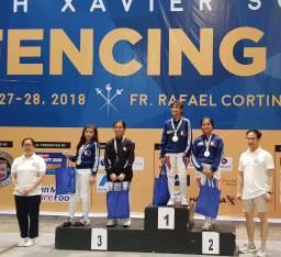 Multiple Intelligence International School Fencing Team at Xavier Cup (16)