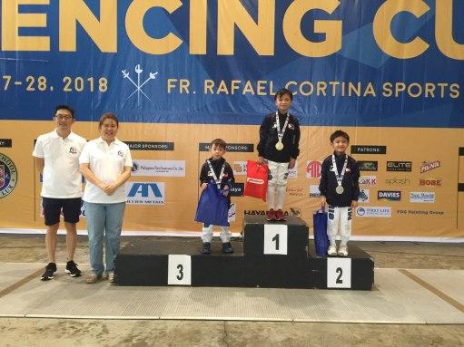 Multiple Intelligence International School Fencing Team at Xavier Cup (17)
