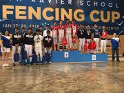 Multiple Intelligence International School Fencing Team at Xavier Cup (2)