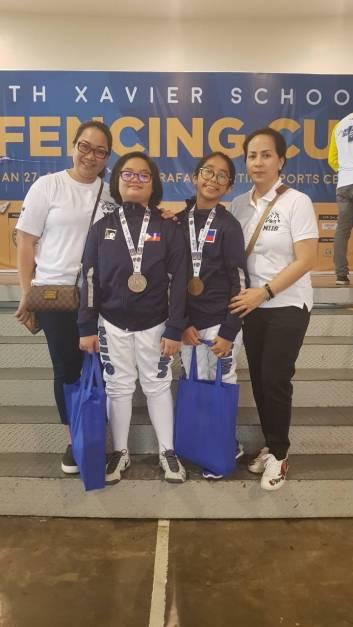Multiple Intelligence International School Fencing Team at Xavier Cup (27)
